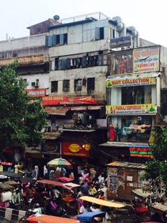 delhi caos